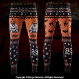93 Brand Boo Jitsu Halloween Grappling Tights